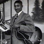 Fred Wills as a bluesman in Haywood County