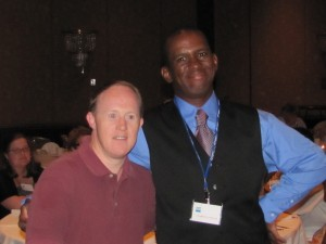 Chris Burke and Clarence Wills