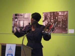 Cheryl speaking at Capital Book Fest in Pennsylvania