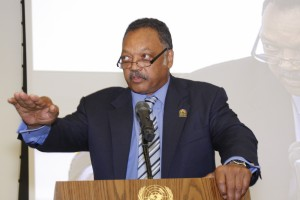The Rev. Jackson was among the distinguished speakers