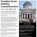 Grant Memorial Event